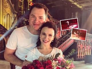 Дочь Марии Петровой и Алексея Тихонова дебютировала в ледовом мюзикле