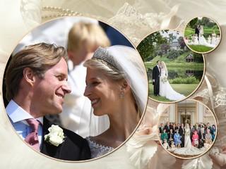 Букингемский дворец представил официальные портреты со свадьбы леди Габриэллы Виндзор