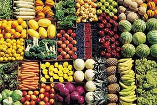 Фрукты и овощи в Сентябре