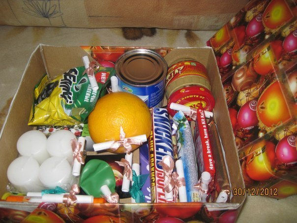 Коробка с сюрпризом. Подарок мужу на 14 февраля! Как вам?