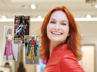 Самый модный образ: модельер Таша Строгая предложила варианты, с чем носят яркую юбку