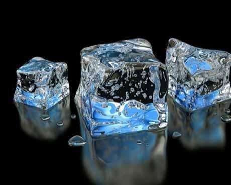 Охладись кубиками льда