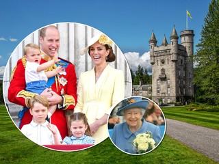 Принц Уильям, Кейт Миддлтон и их дети присоединились к отпуску королевы в горах Шотландии