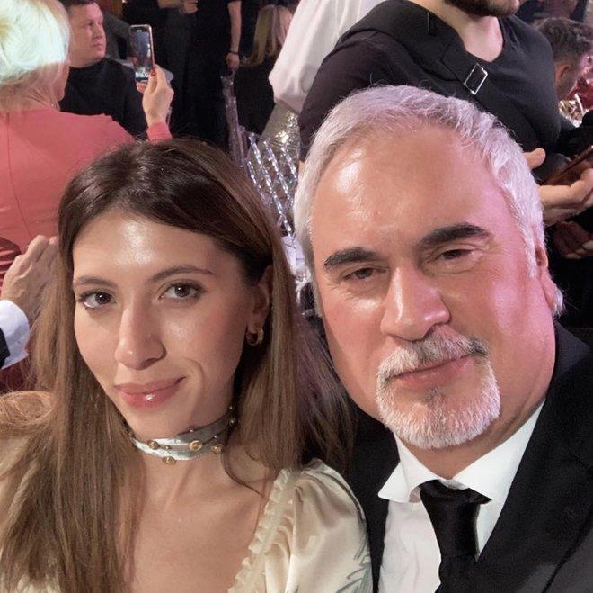 Валерий Меладзе с дочерью Ингой