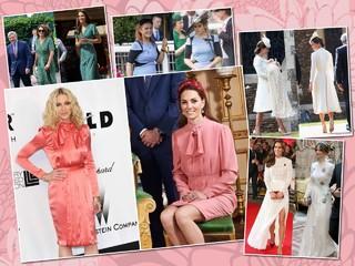 Кому к лицу? Кейт Миддлтон, принцесса Беатрис и другие королевские особы, замеченные в модных повторах