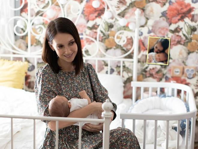 «Все мои говорят, что похож на мужа»: Анастасия Цветаева показала лицо новорожденного сына