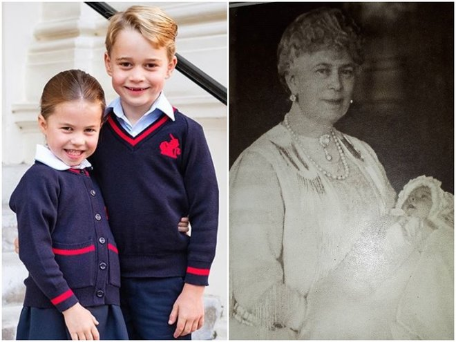 Дети принца Уильяма похожи на его прапрабабушку