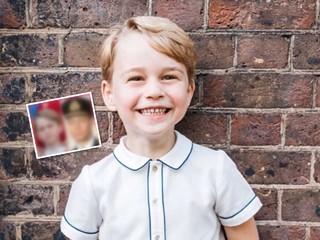 Гены берут свое: принц Джордж становится все больше похож на короля Георга VI