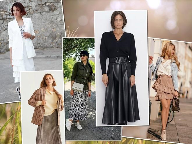 10 самых модных юбок осени