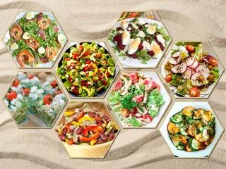 Долой «Греческий» и «Цезарь»! Рецепты ярких салатов с овощами