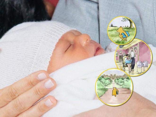 Сын принца Гарри и Меган Маркл стал героем мультфильма про Винни-Пуха