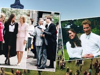Удивительные кадры: как принц Уильям и Кейт Миддлтон стали магистрами