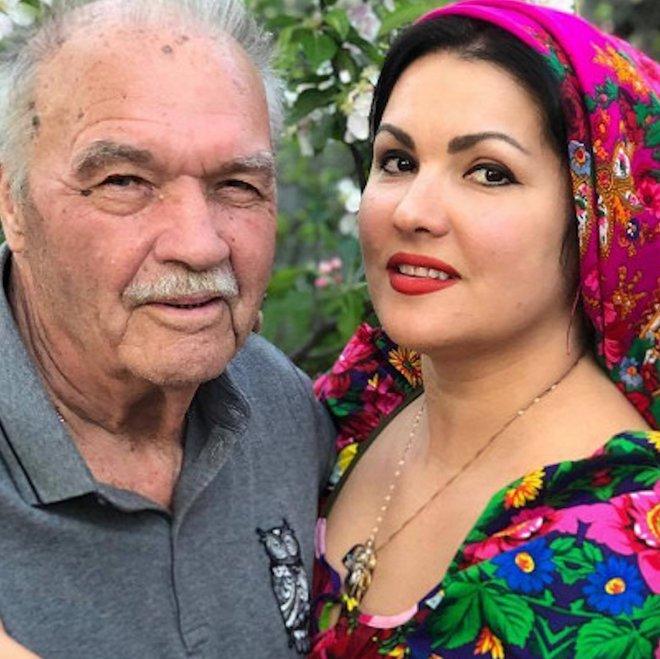 Анна Нетребко с папой