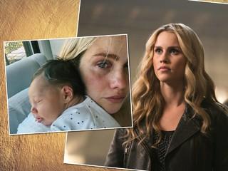 «Боль и чувство поражения»: звезда «Дневников вампира» рассказала о первом опыте грудного кормления