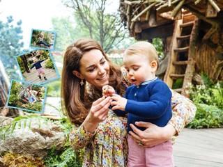 Посмотрите, кто пошел: новые портреты Кейт Миддлтон с детьми