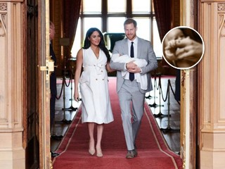 В День отца: Меган Маркл и принц Гарри впервые показали лицо сына