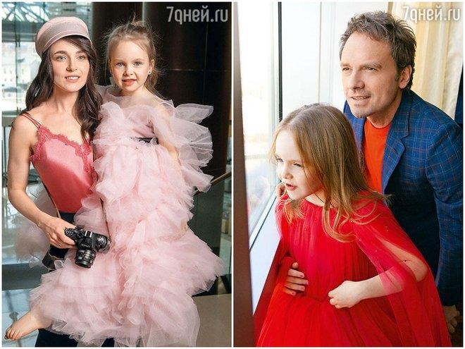 Анна Снаткина и Виктор Васильев с дочкой