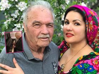 До мурашек: Анна Нетребко показала, как ее папа играет на фортепиано и поет военные песни