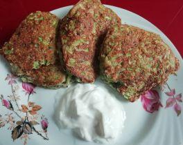 Рецепт кабачковых оладьев с гречневой мукой😍