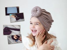 Мастер-класс: как сшить детский тюрбан за 30 минут