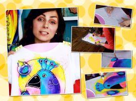 Мастер-класс: роспись футболки в стиле family look