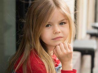 6-летнюю москвичку признали самой красивой девочкой в мире