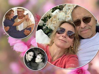 Больше 20 лет вместе: Юлия Высоцкая показала редкие фото с мужем из семейного архива