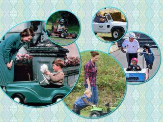 Бип-бип, поехали: на какой детской машинке катается принц Джордж и другие королевские малыши