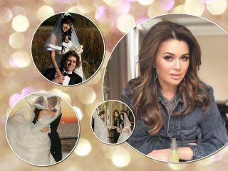 Моменты счастья: родные Анастасии Заворотнюк поделились редкими кадрами со свадьбы с Петром Чернышевым
