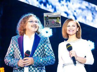 Команда синхронистов: жена Игоря Николаева поделилась забавным видео с дочерью и мужем
