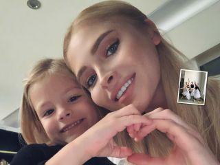 По примеру дочки: модель Алена Шишкова решила стать балериной