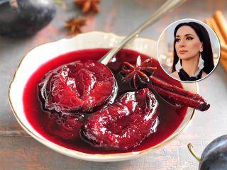 Певица Зара поделилась рецептом необычного сливового варенья