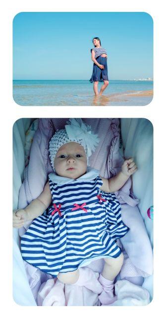 Моя девочка, маленькая морячка