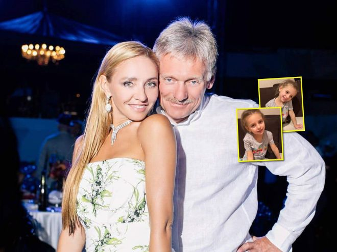 Очень трогательно: дочь Татьяны Навки и Дмитрия Пескова поздравила папу с днём рождения