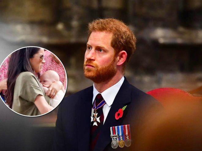 «Уже не такой маленький»: принц Гарри рассказал о первом достижении 2-месячного сына